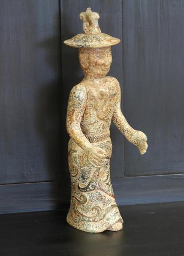19th Century Chinese Jabeite Figure (1 of 7)
