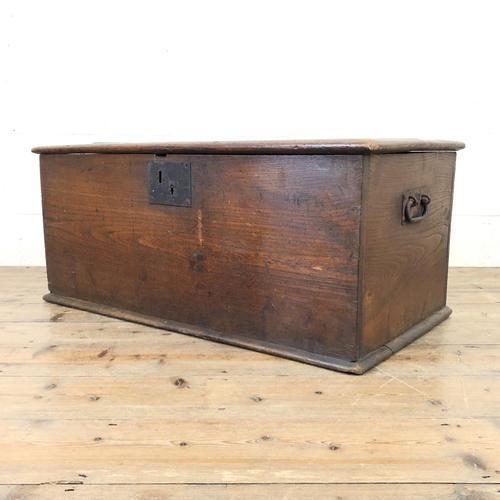 Antique Elm Blanket Box (1 of 10)