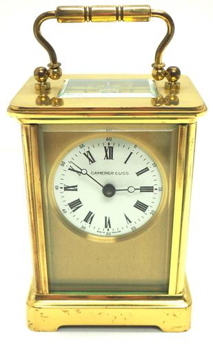 Classic Antique French 8-day Carriage Clock Timepiece c.1890 - L Epee & Camerer Cuss (1 of 10)