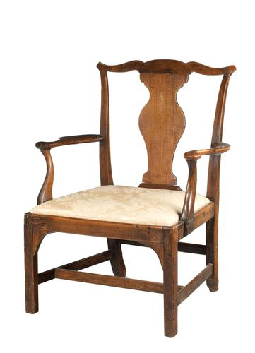 Mid 18th Century Elbow Chair of Very Substantial Proportions (1 of 5)