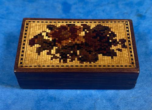 Rosewood & Mosaic Tunbridge Ware Box (1 of 12)