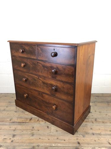 Victorian Mahogany Chest of Drawers (1 of 16)