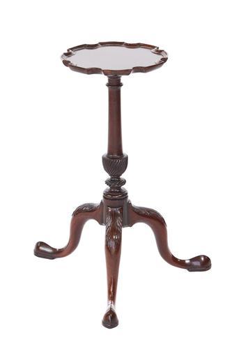 Georgian Revival Mahogany Kettle Stand c.1900 (1 of 5)