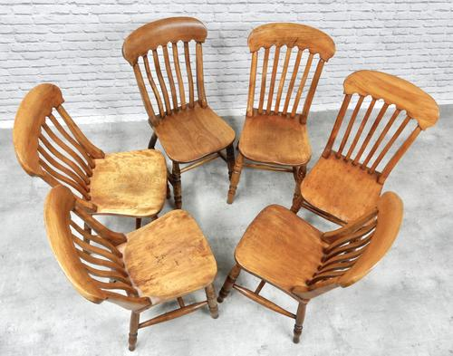 Set of 6 Windsor Kitchen Chairs (1 of 6)