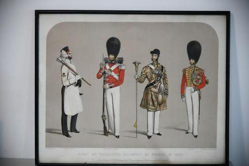 Costumes of the First or Grenadier Regiment (1 of 14)
