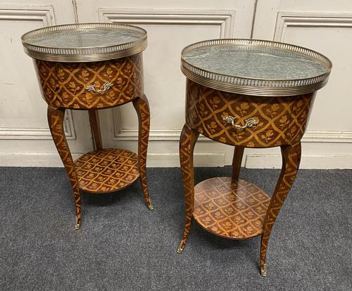 Finest Pair of French Bedside Tables (1 of 29)