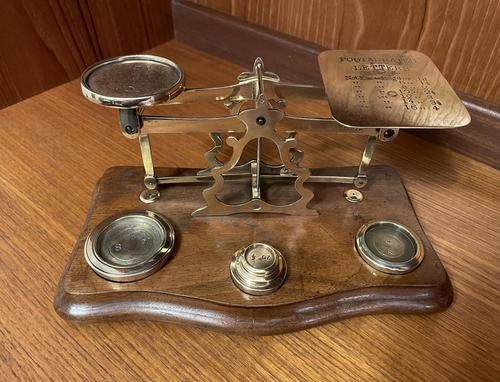 English Postal Scales (1 of 9)