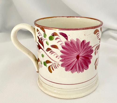 Staffordshire Lustre Mug. c1840 (1 of 8)