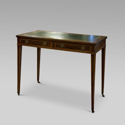 Sheraton Revival Writing Desk c.1890 (1 of 4)