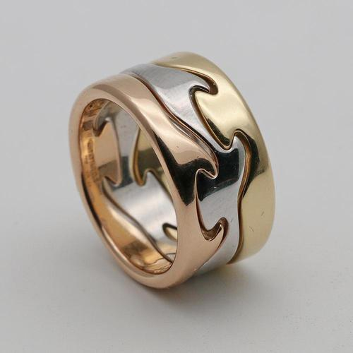 Georg Jensen 18ct Gold 'Fusion' Ring (1 of 3)