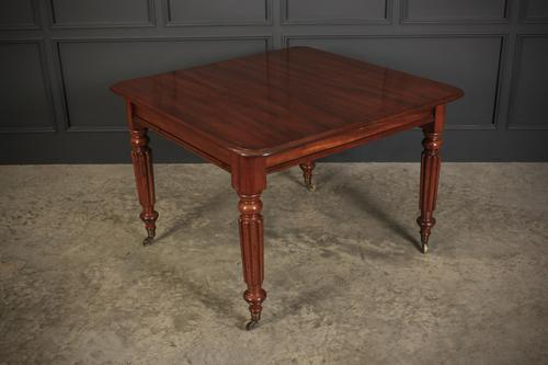 Early Victorian Mahogany 2 Leaf Extending Dining Table (1 of 17)