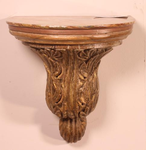 18th Century Wall Console in Wood (1 of 9)