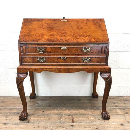 Antique Walnut Bureau (1 of 16)