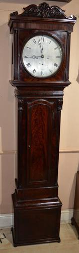 James Muirhead Glasgow Regulator Longcase Grandfather Clock (1 of 8)