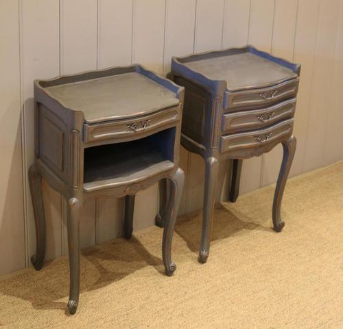 Pair of Painted Bedside Cabinets (1 of 11)