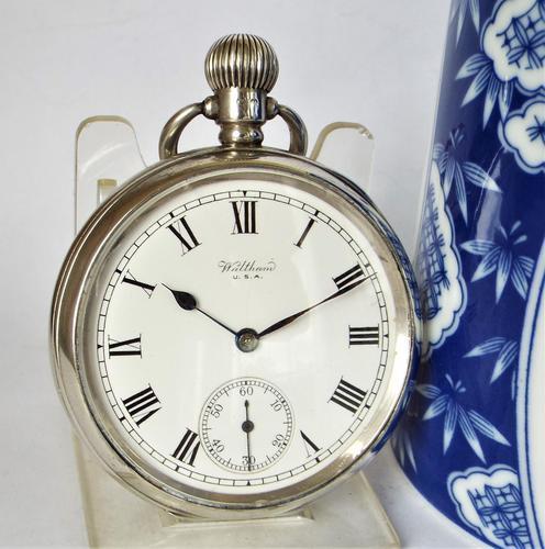 Silver Waltham Pocket Watch 1922 (1 of 5)