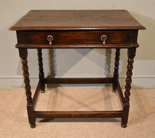 Chanrming 18th Century Oak Side Table (1 of 5)