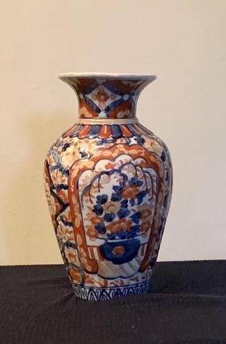 Good Size Japanese Imari Vase (1 of 5)