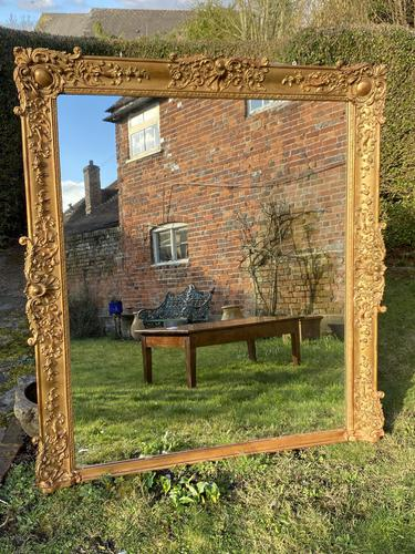 Very Large Gilt Mirror (1 of 11)