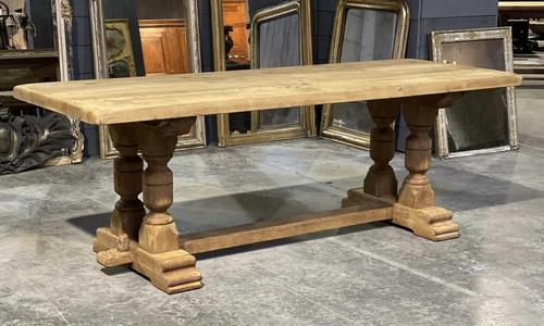 French Oak Refectory Farmhouse Dining Table (1 of 12)