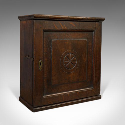 Antique Tea Cabinet, English, Oak, Spice, Apothecary Case, Georgia  c.1800 (1 of 12)