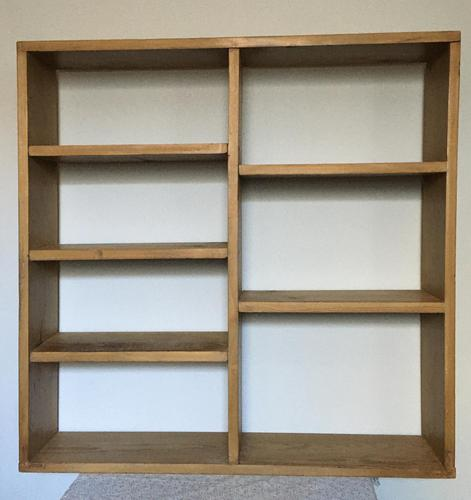 Primitive Wall Hanging Shelf (1 of 4)