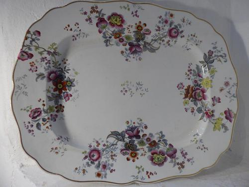 Large Chamberlain Worcester Platter (1 of 6)
