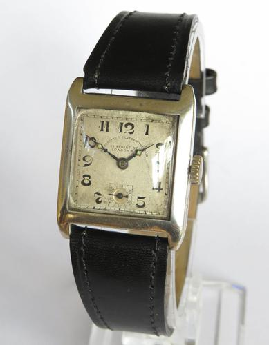 Gents 1931 Silver Watch, Goldsmiths & Silversmiths (1 of 5)