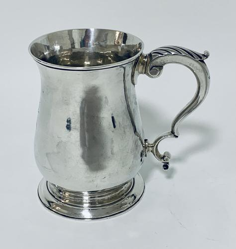 18th Century Georgian Solid Sterling Silver Tankard (1 of 16)