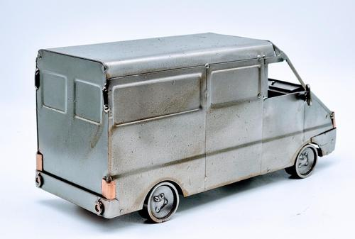 Handmade Steelman Nuts & Bolts Model Van (1 of 7)