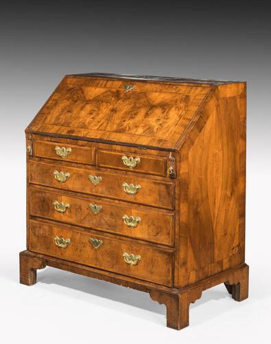 Mid 18th Century Walnut Bureau of Exceptional Colour & Patina (1 of 8)