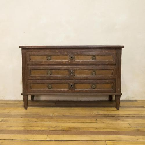 Louis XVI Period Original Painted Commode - Chest of Drawers (1 of 14)
