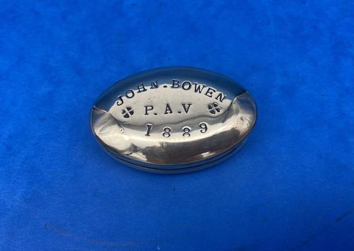 19th Century Brass Minors Tobacco Tin (1 of 12)