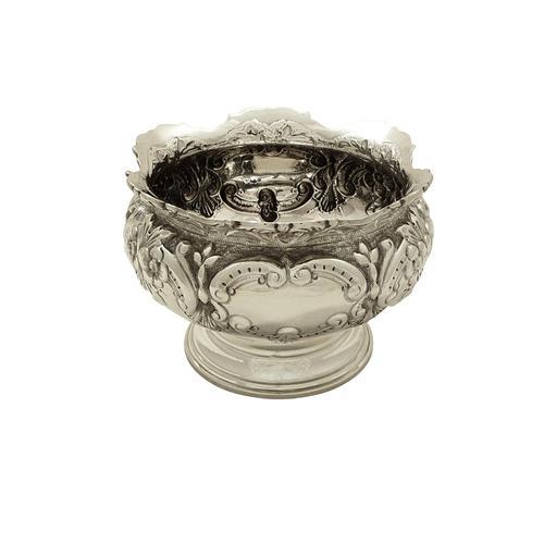 Antique Edwardian Sterling Silver Bowl 1905 (1 of 8)