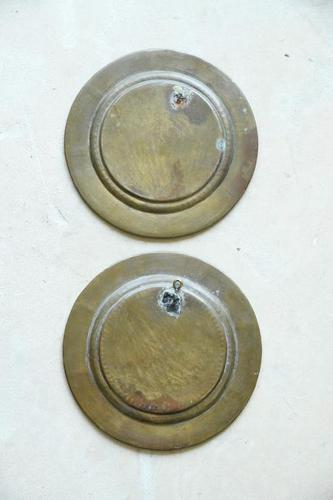 Pair of Brass Indian Dishes (1 of 7)