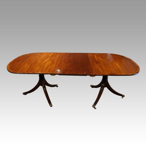 George V  Banded Mahogany  Dining Table (1 of 5)
