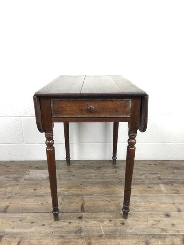 Small Victorian Welsh Oak Pembroke Table (1 of 18)