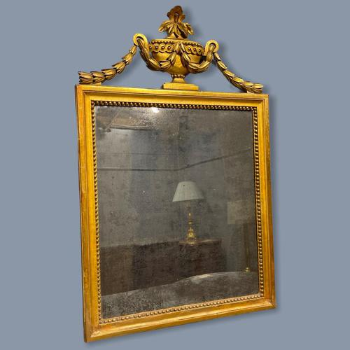 Early 19th Century French Gilt Mirror (1 of 9)