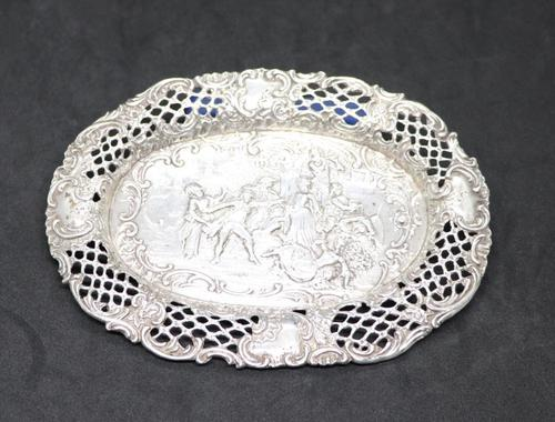 Hanau Silver Tray 1870s (1 of 8)