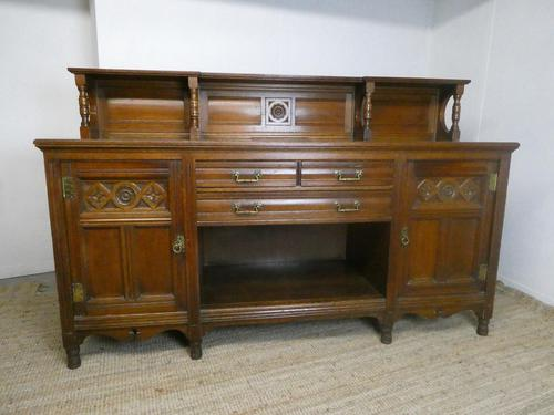 English Oak Sideboard by Gillows of Lancaster (1 of 15)