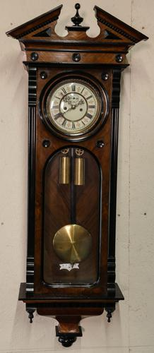 19th Century Vienna Wall Clock (1 of 7)