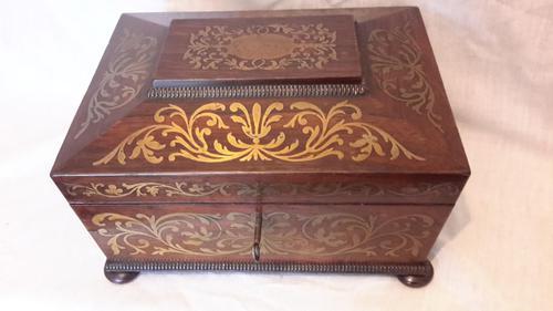 Regency Rosewood Ladies Work Box (1 of 11)