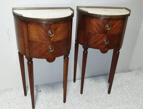 Superb Pair of French Mahogany Cabinets (1 of 9)