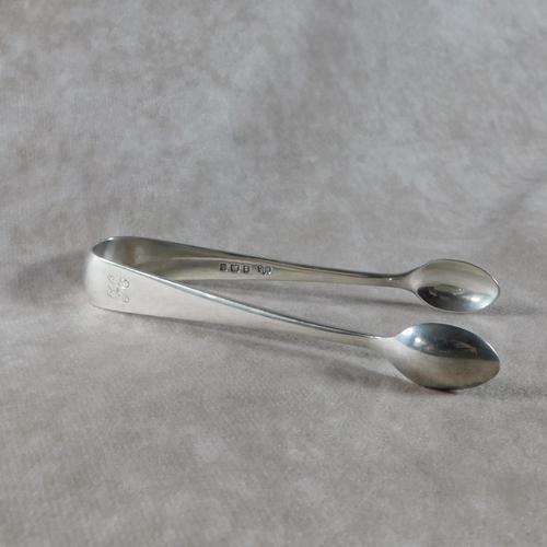 Pair of 1910 Silver Sugar Bows by Elkington & Co (1 of 4)