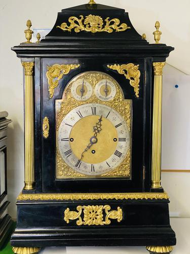 Triple fusee 8 Bells & Westminster Chime musical clock (1 of 8)