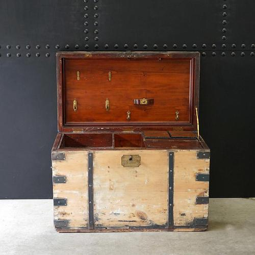 Royal Naval Officers Trunk (1 of 12)
