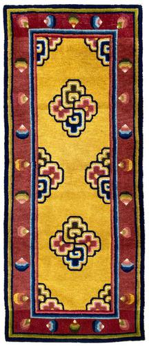 Antique Chinese Ningxia Rug (1 of 10)