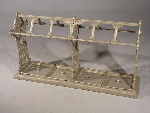 Huge Late 19th Century Country House Cast Iron Stick Stand (1 of 5)
