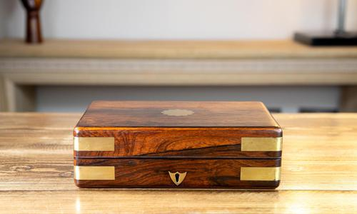 William IV Rosewood Table Box 1830 (1 of 10)