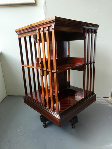 Fine English Revolving Bookcase (1 of 6)